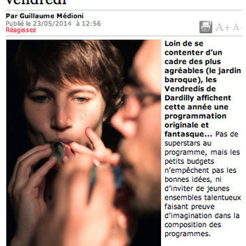 Ensemble Artifices - Article Lyon Capitale