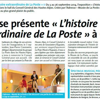 Ensemble Artifices - Revue interne Jourpost PACA